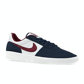 Chaussures Nike SB Team Classic - Obsidian Team Red Summit White