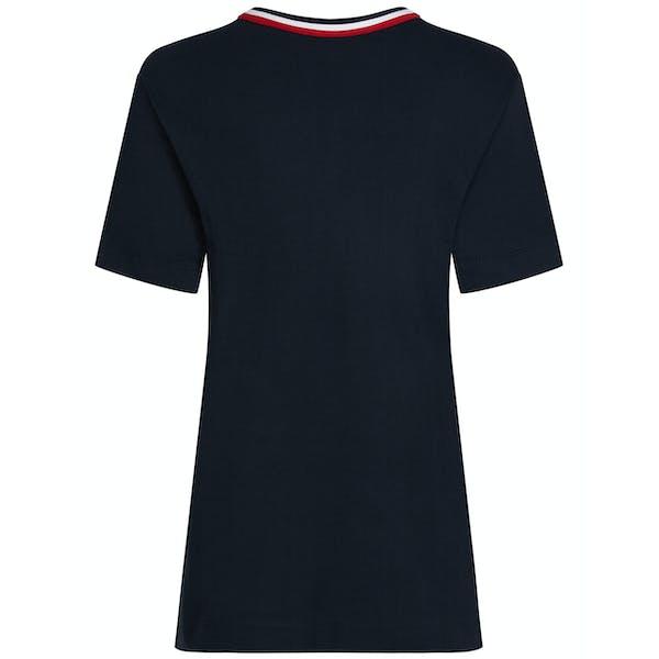 Tommy Hilfiger Cherise C-nk Dame Kortærmede T-shirt