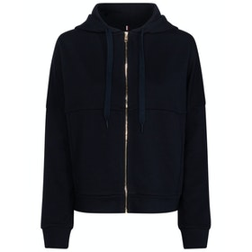 Tommy Hilfiger Charlot Dame Zip Hoodie - Sky Captain