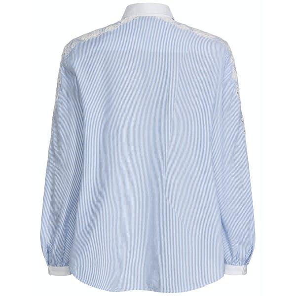 Tommy Hilfiger Evie Embroidered Cotton Women's Shirt