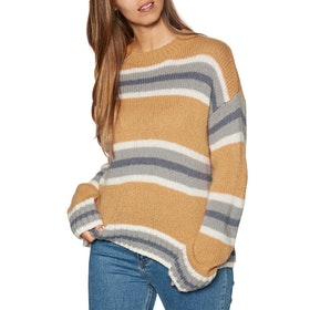 Knits Mujer Rip Curl Cosy Oudoors Crew Sweater - Apple Cinnamon