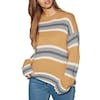 Rip Curl Cosy Oudoors Crew Sweater Womens Knits - Apple Cinnamon