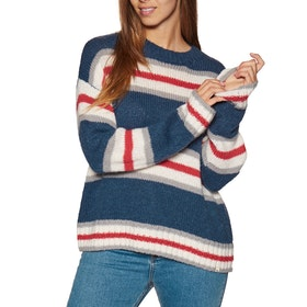 Knits Mujer Rip Curl Cosy Oudoors Crew Sweater - Insignia Blue