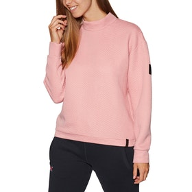 O'Neill Aralia Quilted Crew Sweater - Bridal Rose