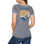 Rip Curl Shorebreak Ringer Ladies Short Sleeve T-Shirt