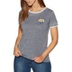 Rip Curl Shorebreak Ringer Womens Short Sleeve T-Shirt