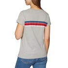 Rip Curl Wetty Stripe Short Sleeve T-Shirt