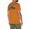 Patagonia P-6 Logo Organic Short Sleeve T-Shirt - Hammonds Gold