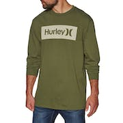 Hurley Core One & Only Boxed Long Sleeve T-Shirt