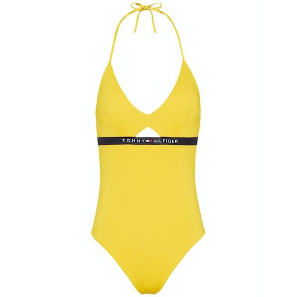 Tommy Hilfiger Cutout One Piece Women's Swimsuit