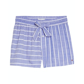 Tommy Hilfiger Stripe Shorts - Gray Dawn