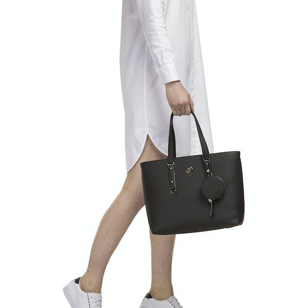 Tommy Hilfiger Modern Hardware Med Women's Shopper Bag