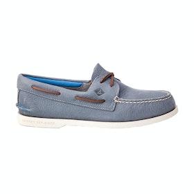Dress Shoes Sperry A/o 2 Eye Plush Washable - Blue