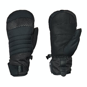 686 Infiloft Majesty Mitt Womens Snow Gloves - Black Croc