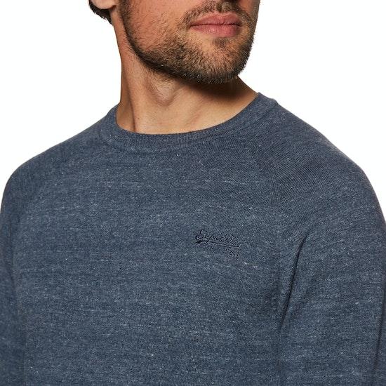 Superdry Orange Label Cotton Crew Sweater
