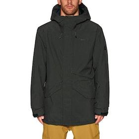 Bonfire Vector Shell Snow Jacket - Black