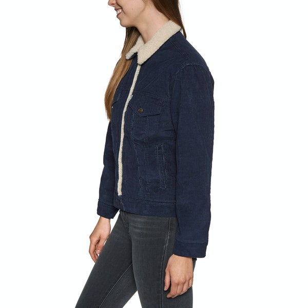 Levi's Exbf Sherpa Trucker Addicted To Love Womens ジャケット