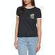 RVCA Bouquet Ringer Womens Short Sleeve T-Shirt