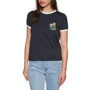 RVCA Bouquet Ringer Ladies Short Sleeve T-Shirt