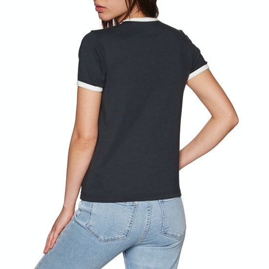 RVCA Bouquet Ringer Ladies Short Sleeve T-Shirt