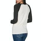 RVCA Cherries Ladies Long Sleeve T-Shirt