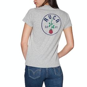 RVCA Rosie Short Sleeve T-Shirt - Athletic Heathe