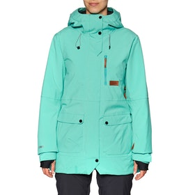 Blouson pour Snowboard Planks All-time Insulated - Teal