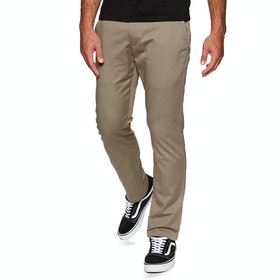 Jeans RVCA Weekend Stretch Pant - Dark Khaki