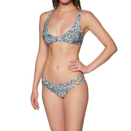 RVCA Leopard Haze Cheeky Bikini Bottoms