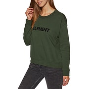Element Logo Crew Fleece Dame Sweater