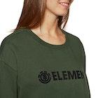 Element Logo Crew Fleece Ladies Sweater