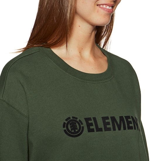 Element Logo Crew Fleece Womens Sweater