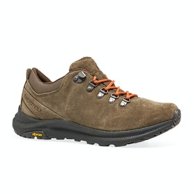 Merrell Ontario Suede Walking Shoes - Canteen