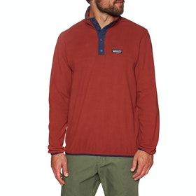Polaire Patagonia Micro D Snap T - Molten Lava