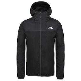 North Face Cyclone 2 Hooded Windproof Jacket - Tnf Black Asphalt Grey