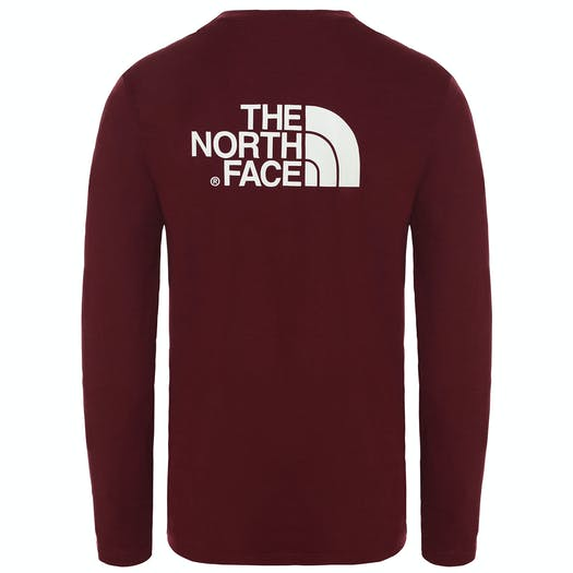 T-Shirt LS North Face Easy