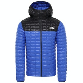 North Face Thermoball Eco Packable Hoodie Jacket - TNF Blue TNF Black