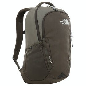 North Face Vault Hiking Backpack - New Taupe Green Combo High Rise Greyry