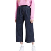 Levis Ribcage Pleated Crop Women's Jeans