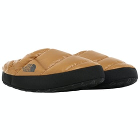 North Face Nuptse Tent Mule III Slippers - Cedar Brown TNF Black