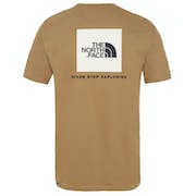 North Face Red Box Mens T Shirt
