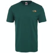 North Face Red Box Mens T Shirt