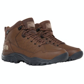 North Face Storm Strike 2 WP Mid Boots - Carafe Brown Ebony Grey