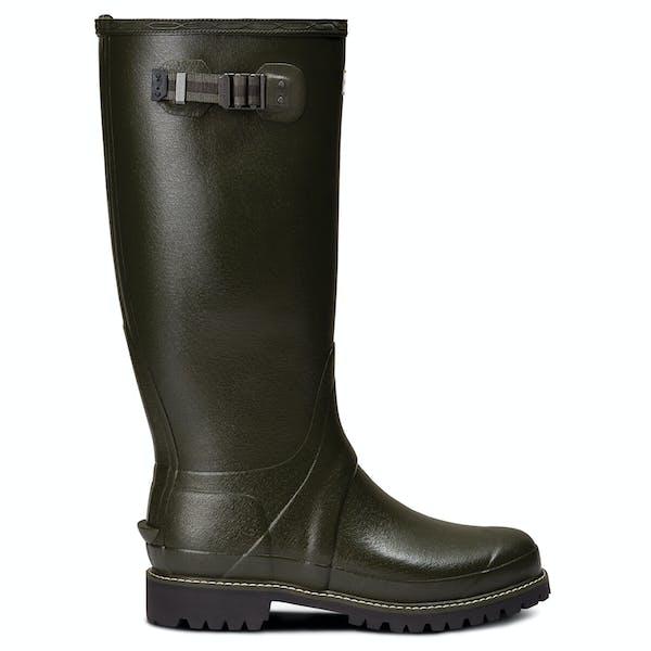 Botas de lluvia Hunter Mens Balmoral Wide Fit Rubber Boot