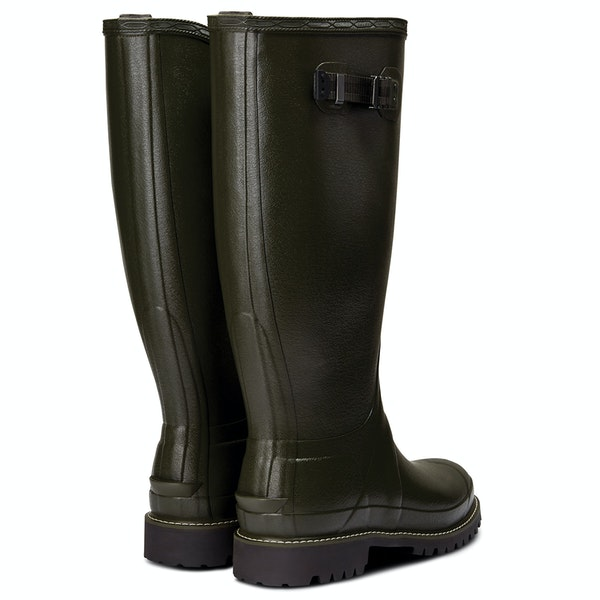 Hunter Mens Balmoral Wide Fit Rubber Boot Wellington Boots