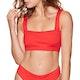 Billabong Sunny Rib Square Neck Womens Bikini Top