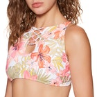 Billabong Tropic Luv High Neck Ladies Bikini Top
