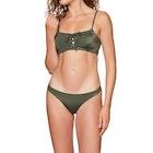 RVCA Solid Laced Bikini Top