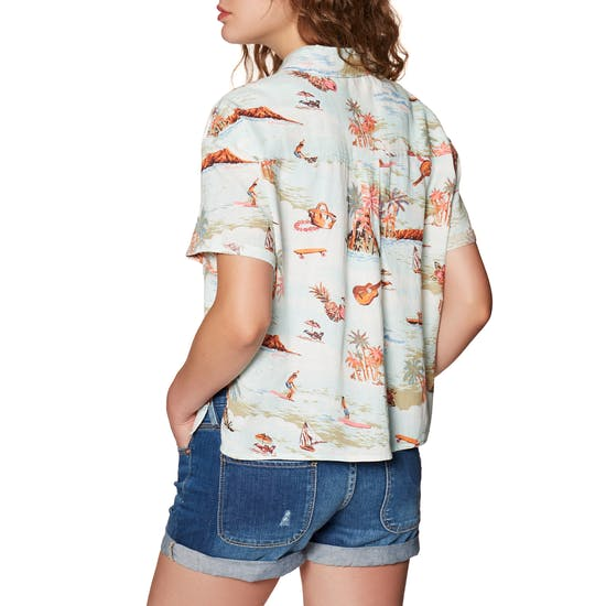 Billabong Hana Koa Ladies Short Sleeve Shirt