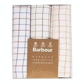 Barbour Classic 3 Boxed Handkerchief - Tattersall